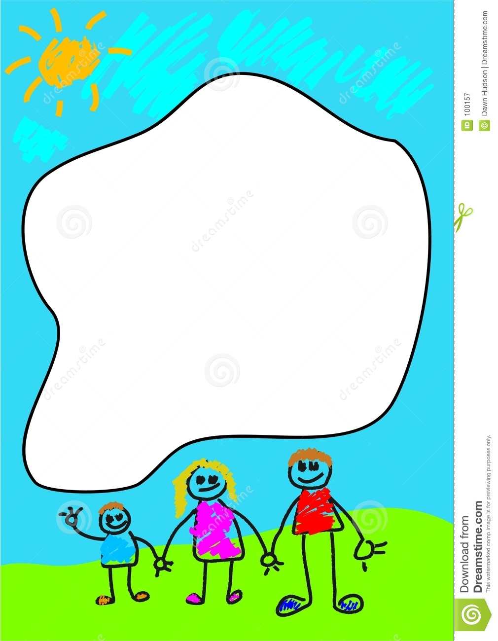 Family Frame Royalty Free Stock Photography Image 100157