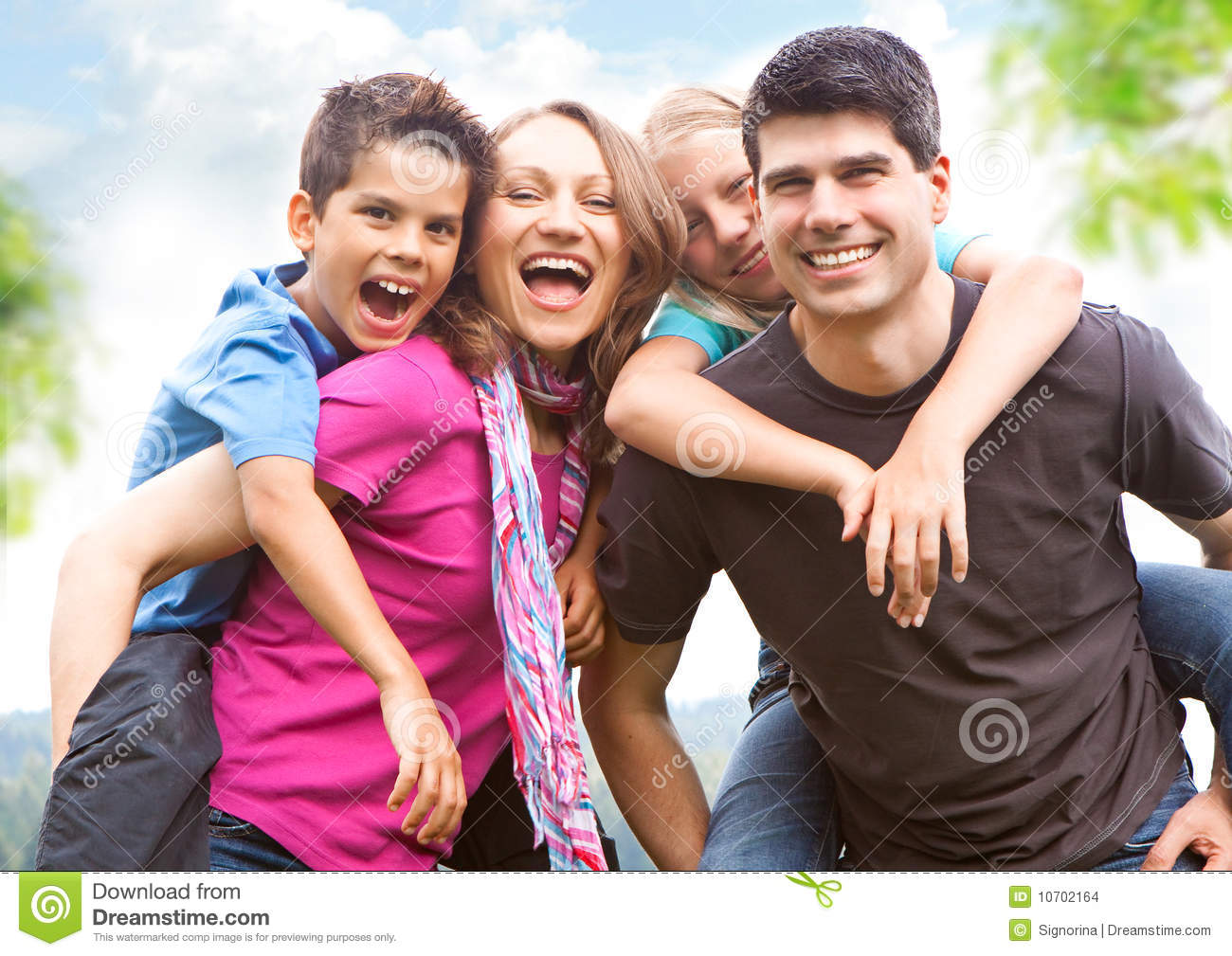 Family-fun 7 Stock Images - Image: 10702164