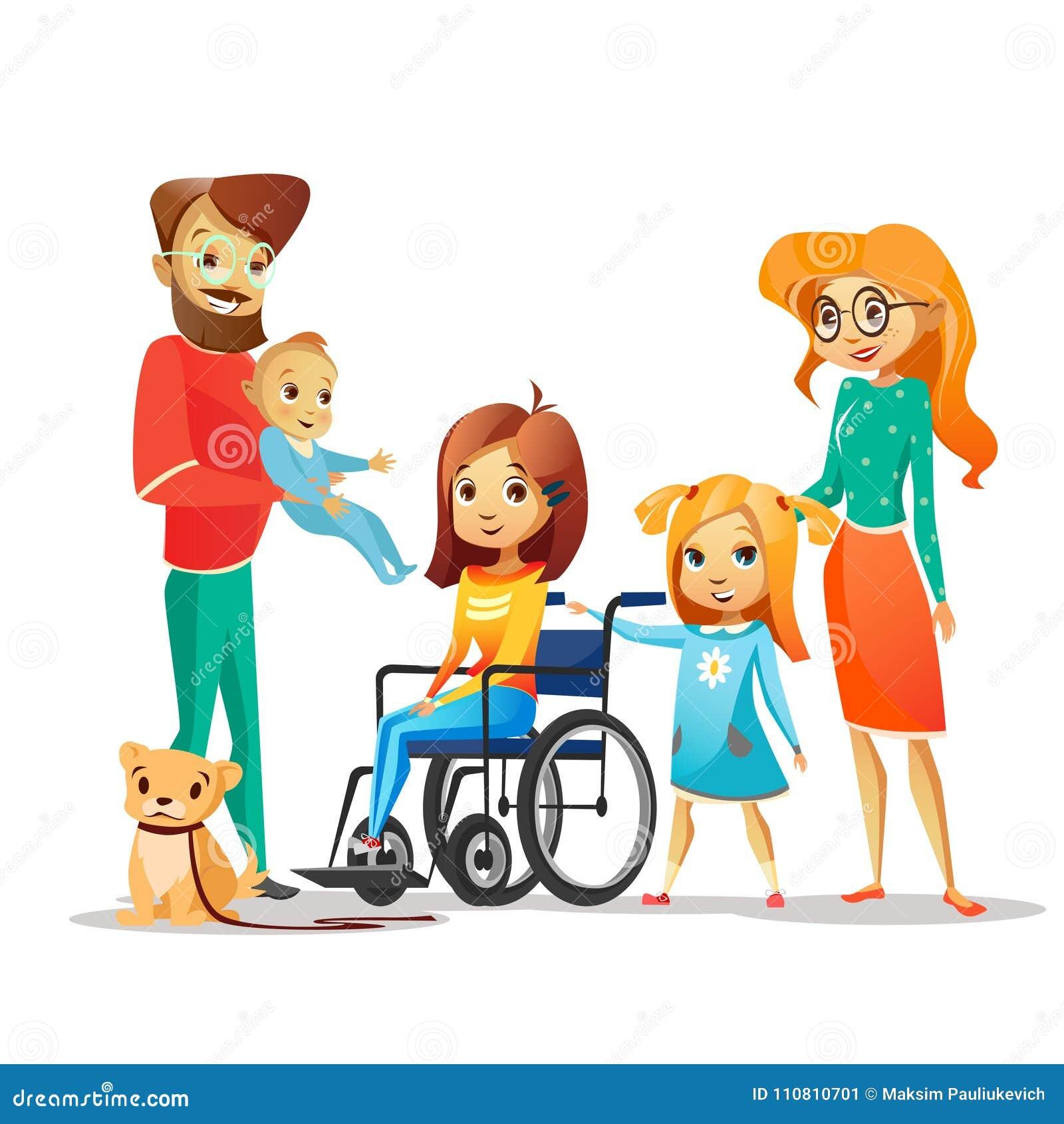 Handicapped Child Stock Illustrations – 1,063 Handicapped ...