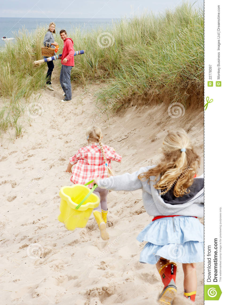 Family Having Fun On Beach Vacation Stock Image - Image of lifestyle ... d75c8a1d10