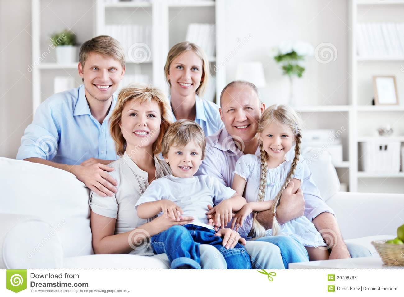 Family home stock photo image of affectionate male for A family house