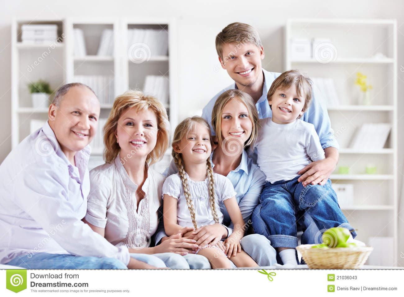 Family at home stock image image of home group mature for Family home