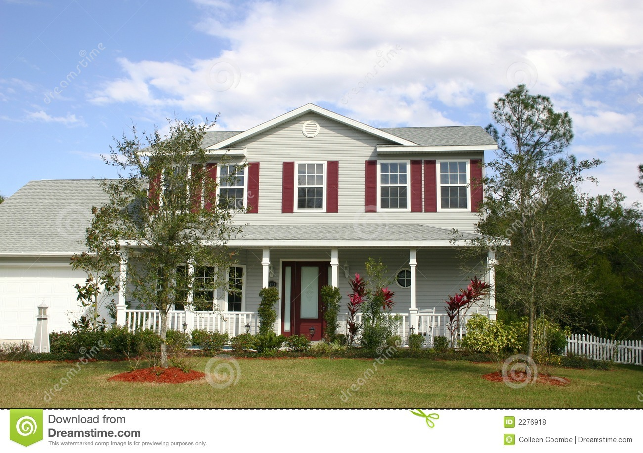Family Home Royalty Free Stock Photos Image 2276918