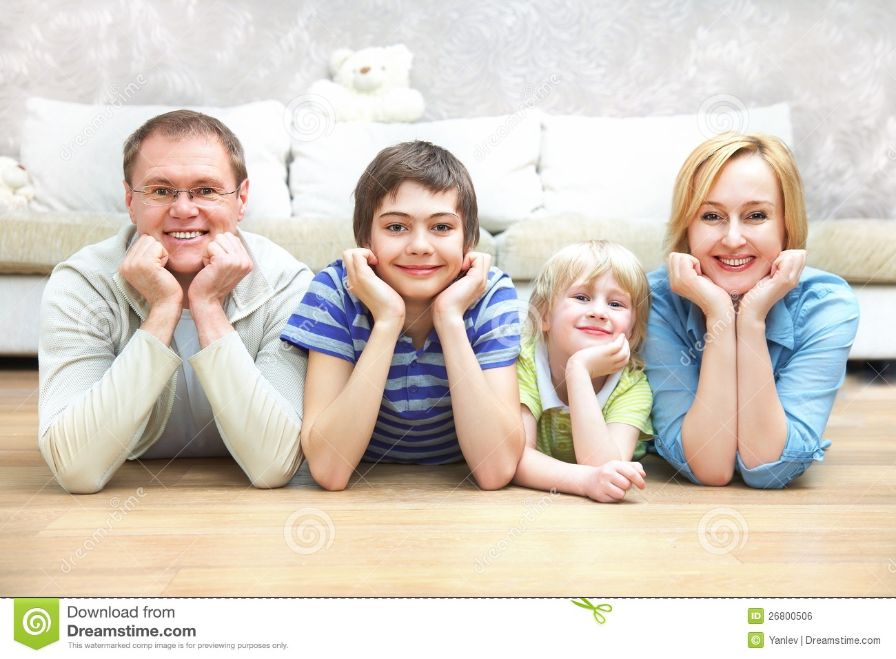 Family Having A Good Time Stock Photos - Image: 26800483