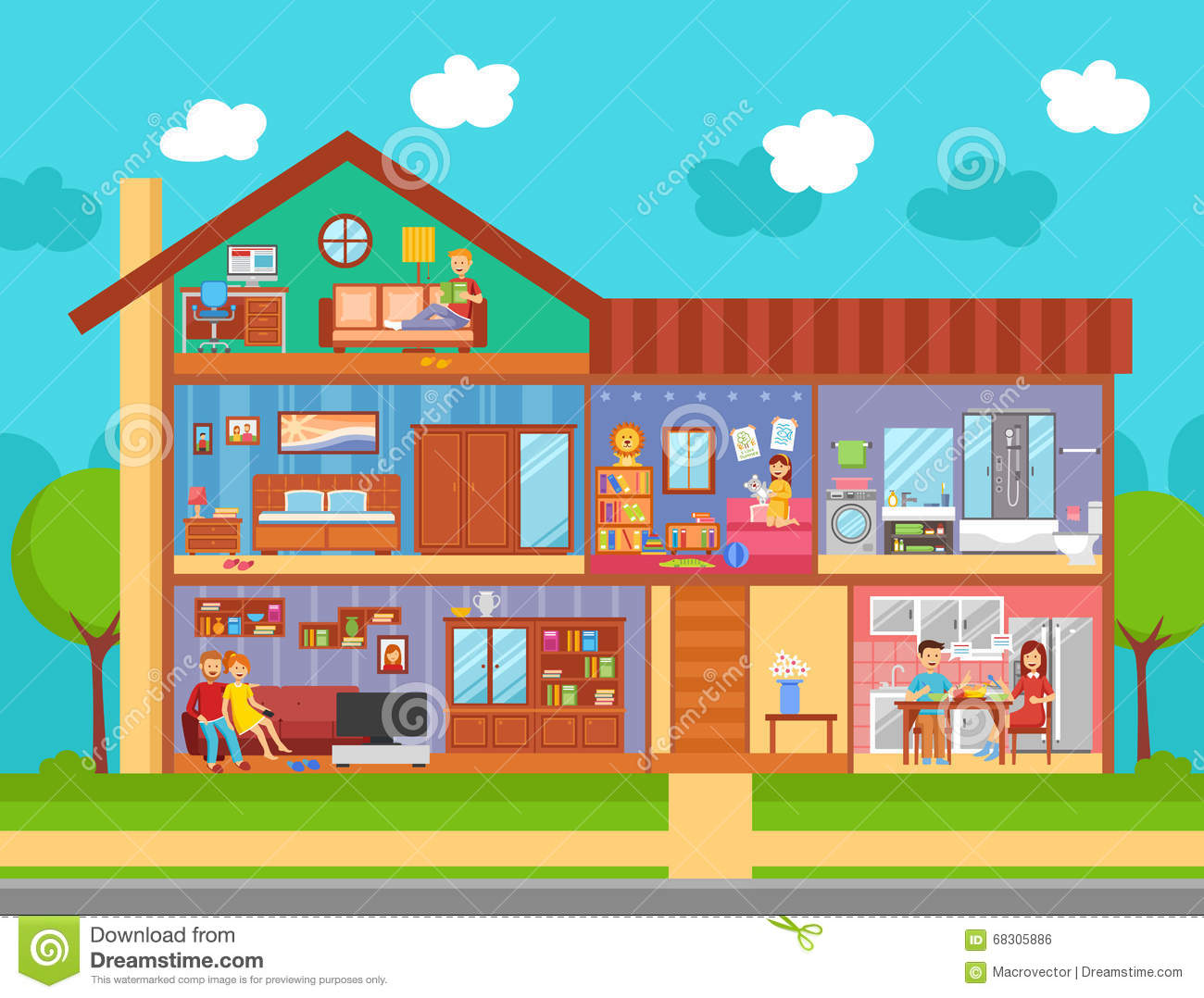 family home interior design concept stock vector image weird and wonderful world s most unusual interior design