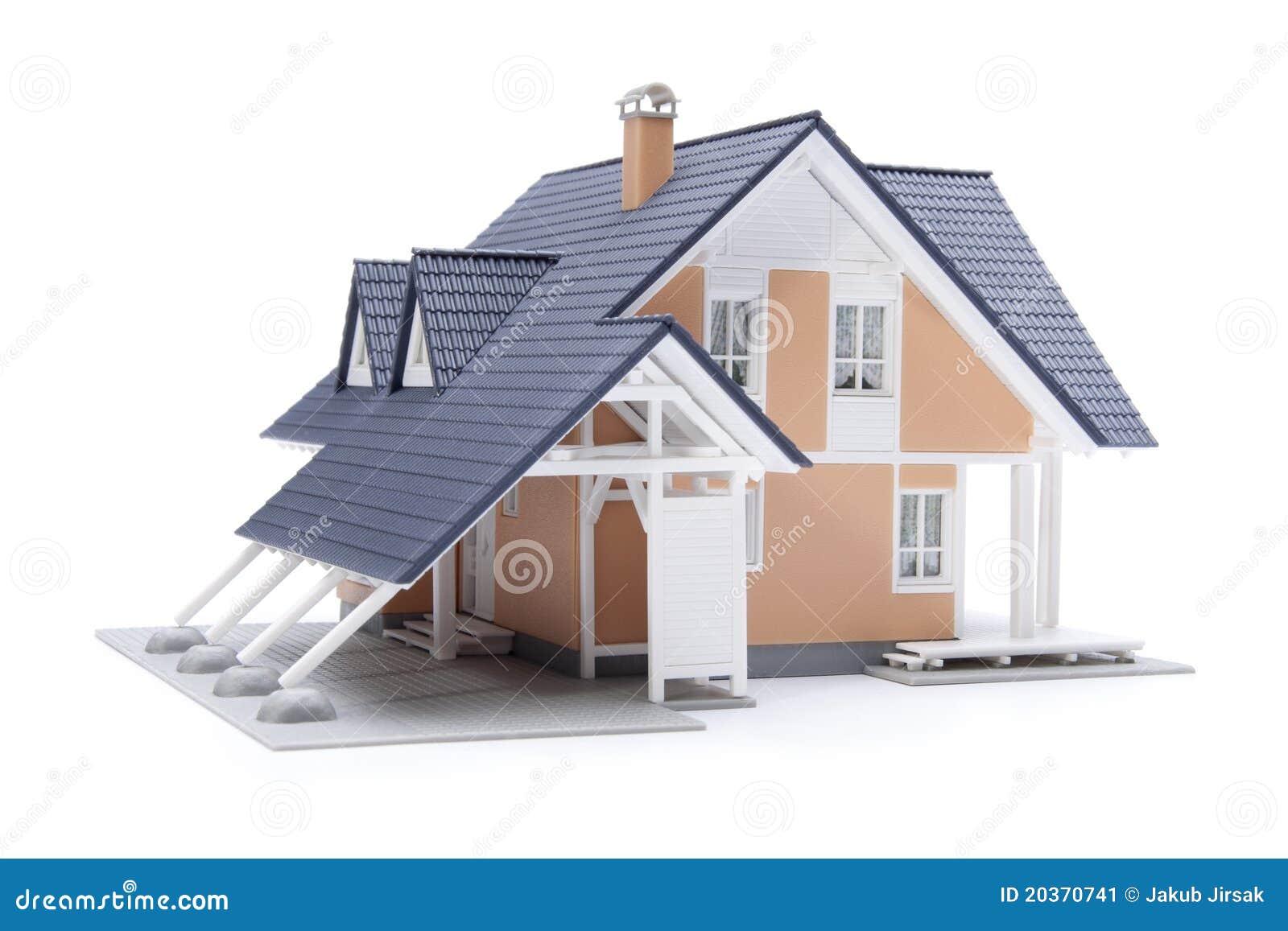 Family House Model Stock Image Image 20370741