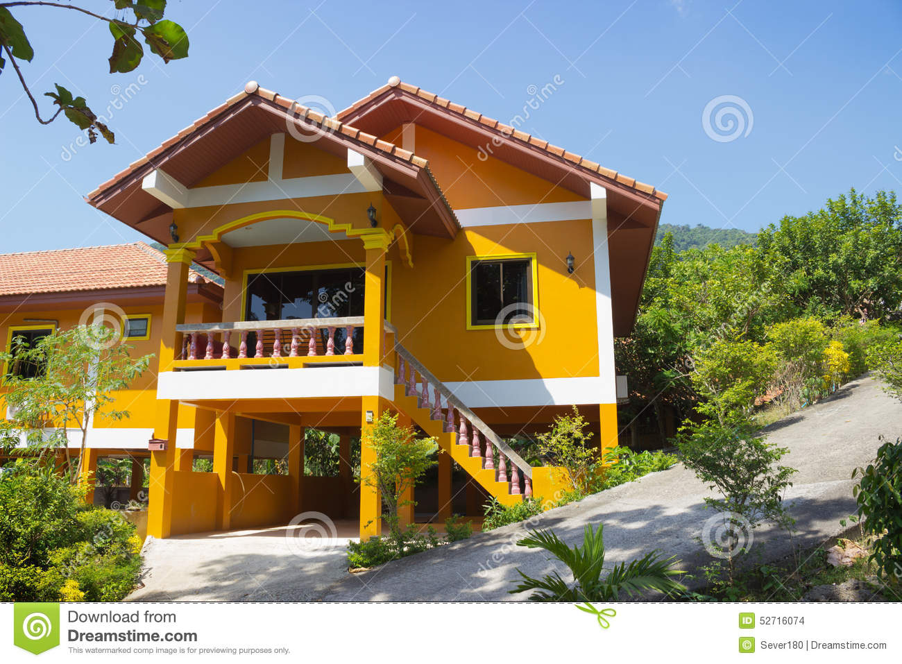 Modern house thailand for Thailand houses pictures