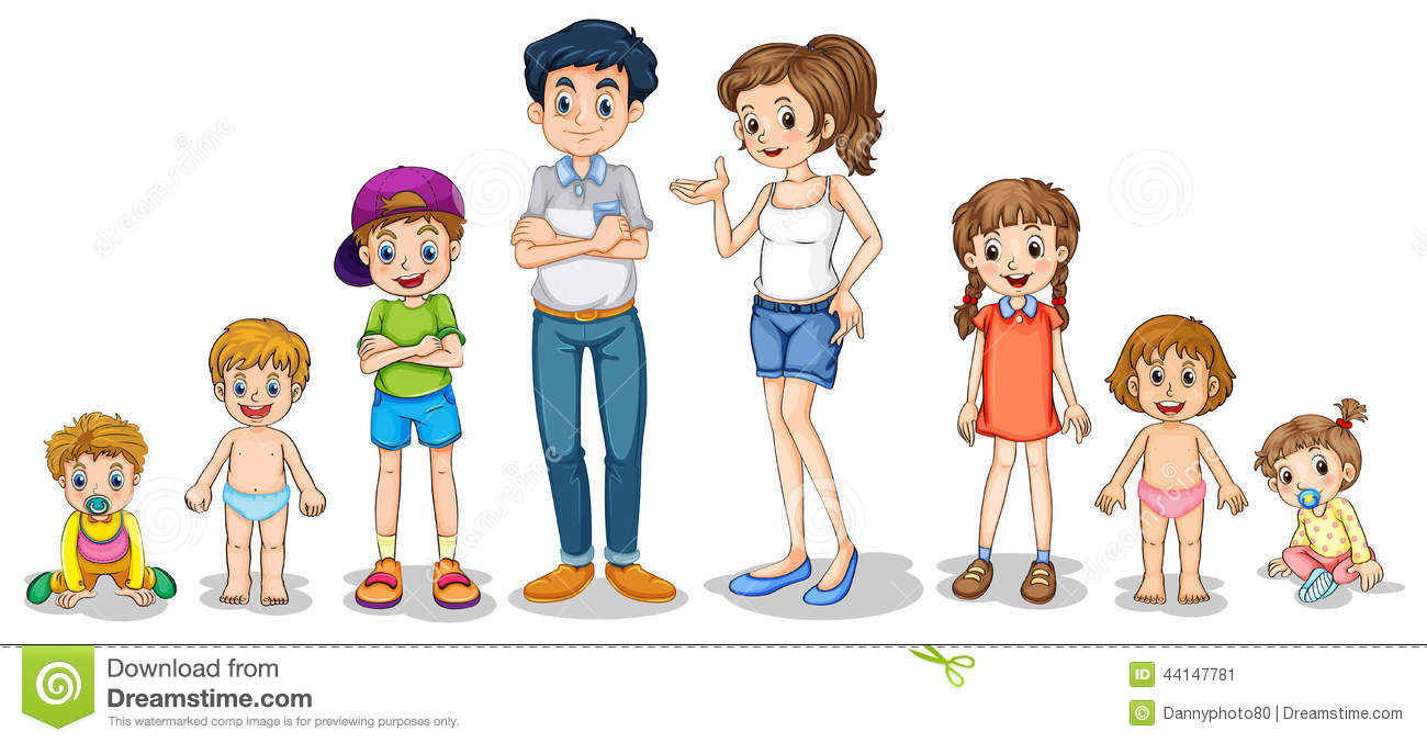 Family Members Stock Photography - Image: 10474842
