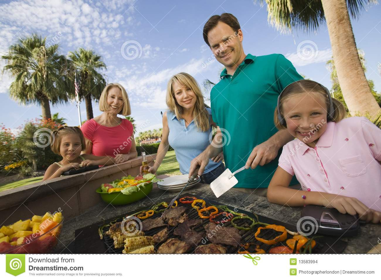 Family Bbq Stock Photos, Images, & Pictures - 2,889 Images