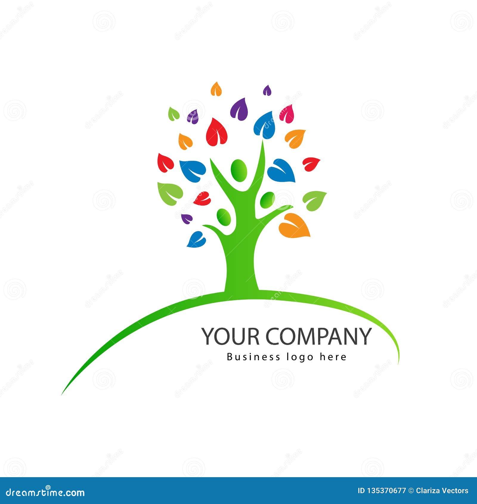 People tree family logo