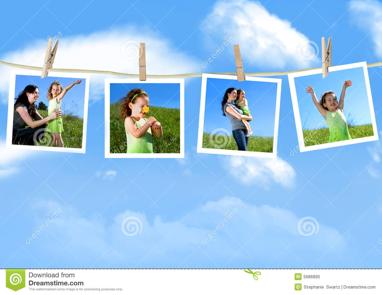 Design Hanging Photos family photographs hanging stock photo image 5686890 royalty free photo