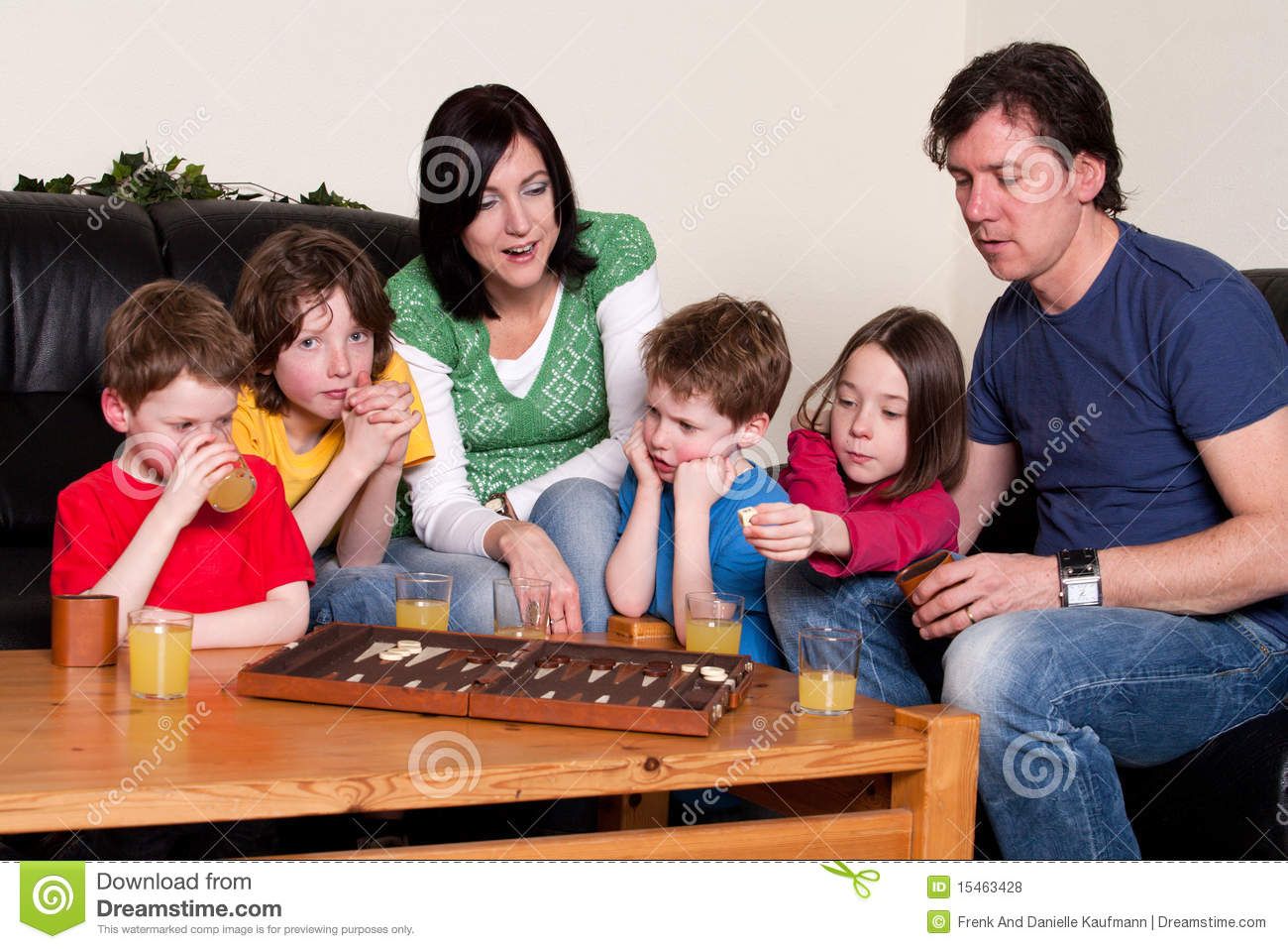 Family Is Playing An Board Game Stock Photo Image Of Boardgame
