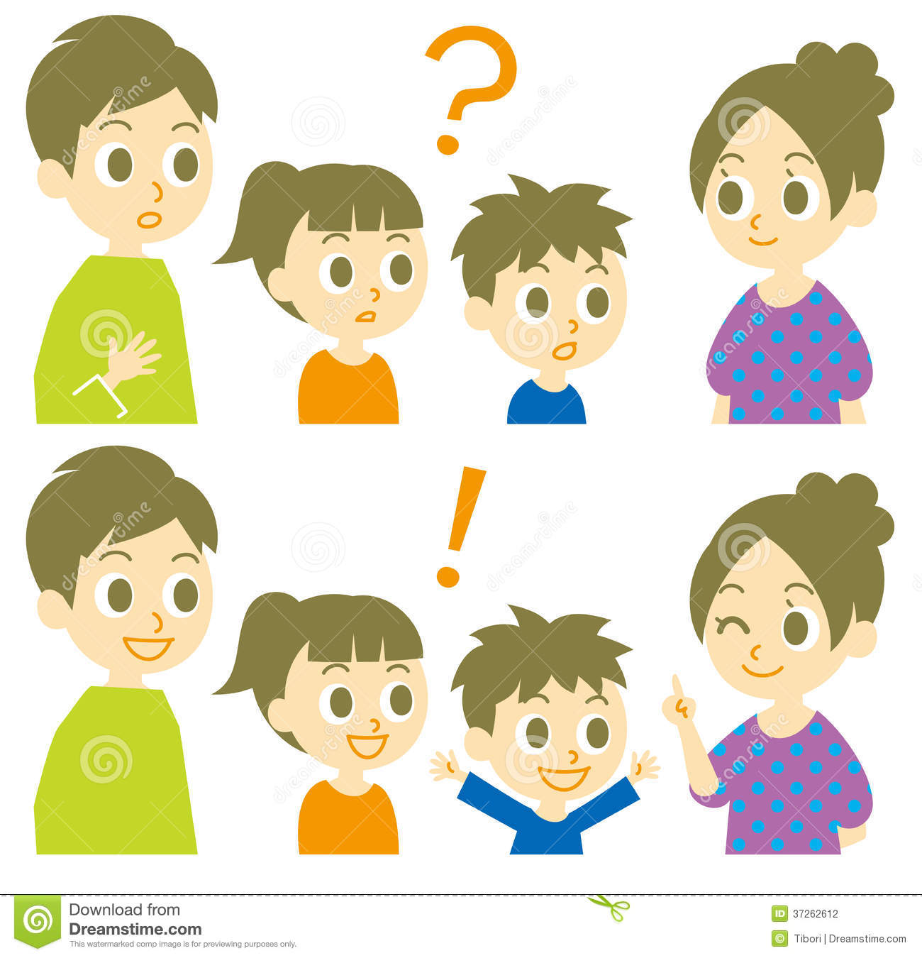 Family, question and answer