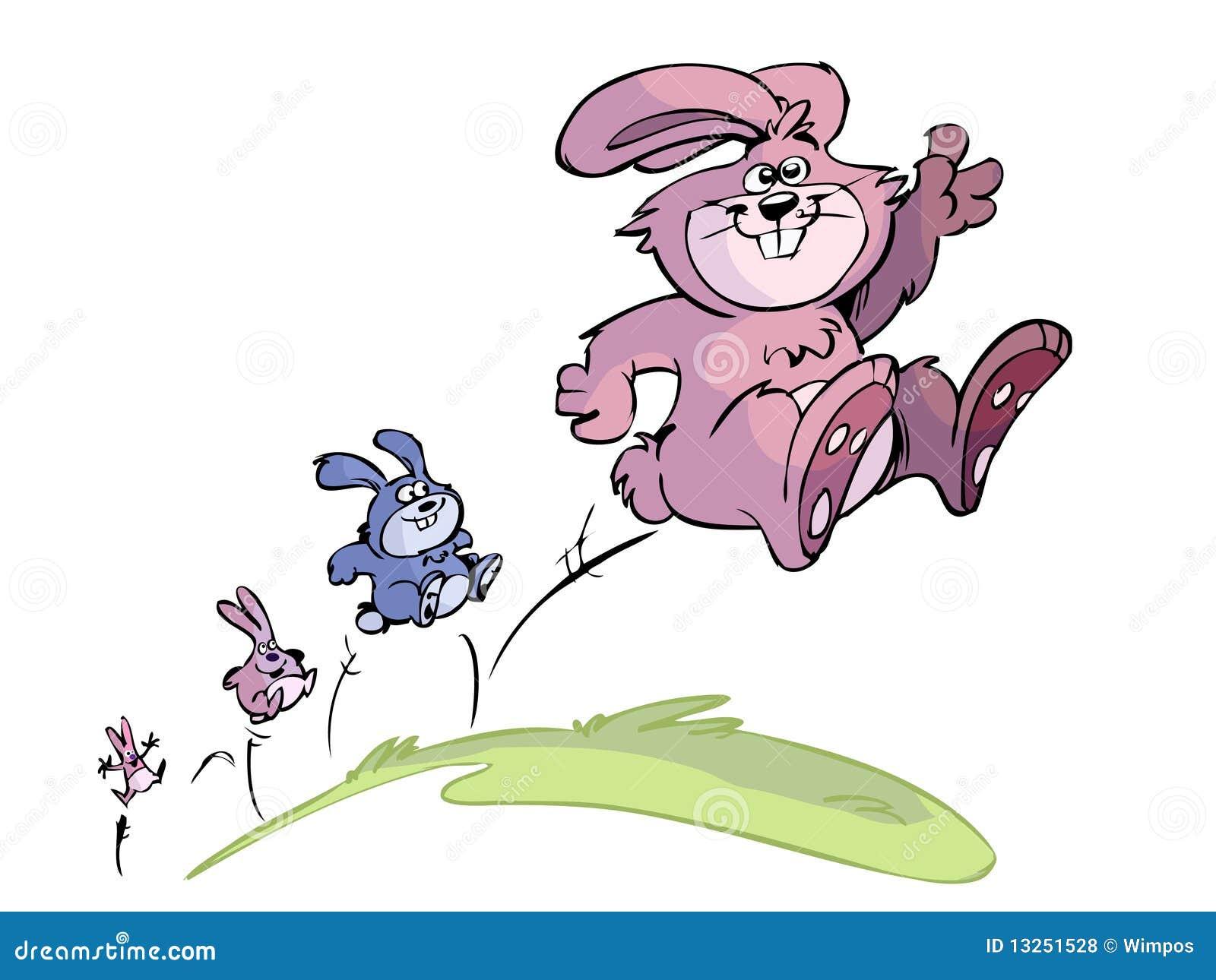 jumping frog cartoon