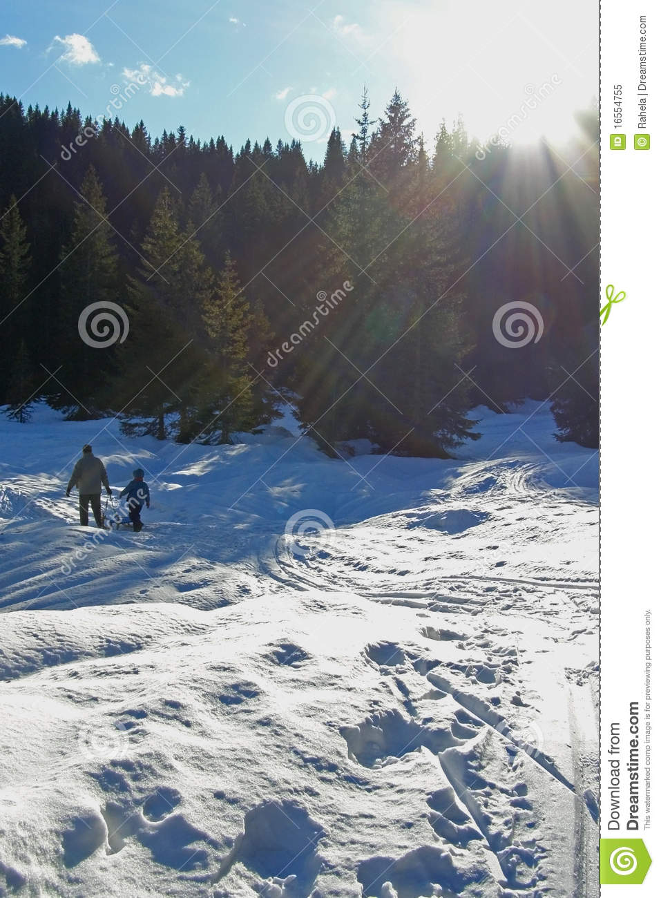 Family 39 s winter vacations royalty free stock photo image for Best family winter vacations