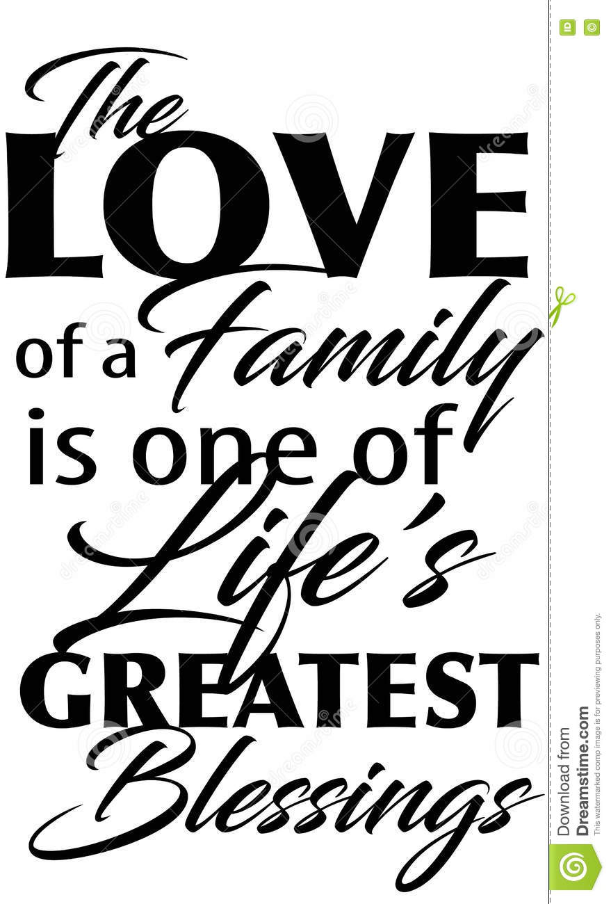 Family saying quote