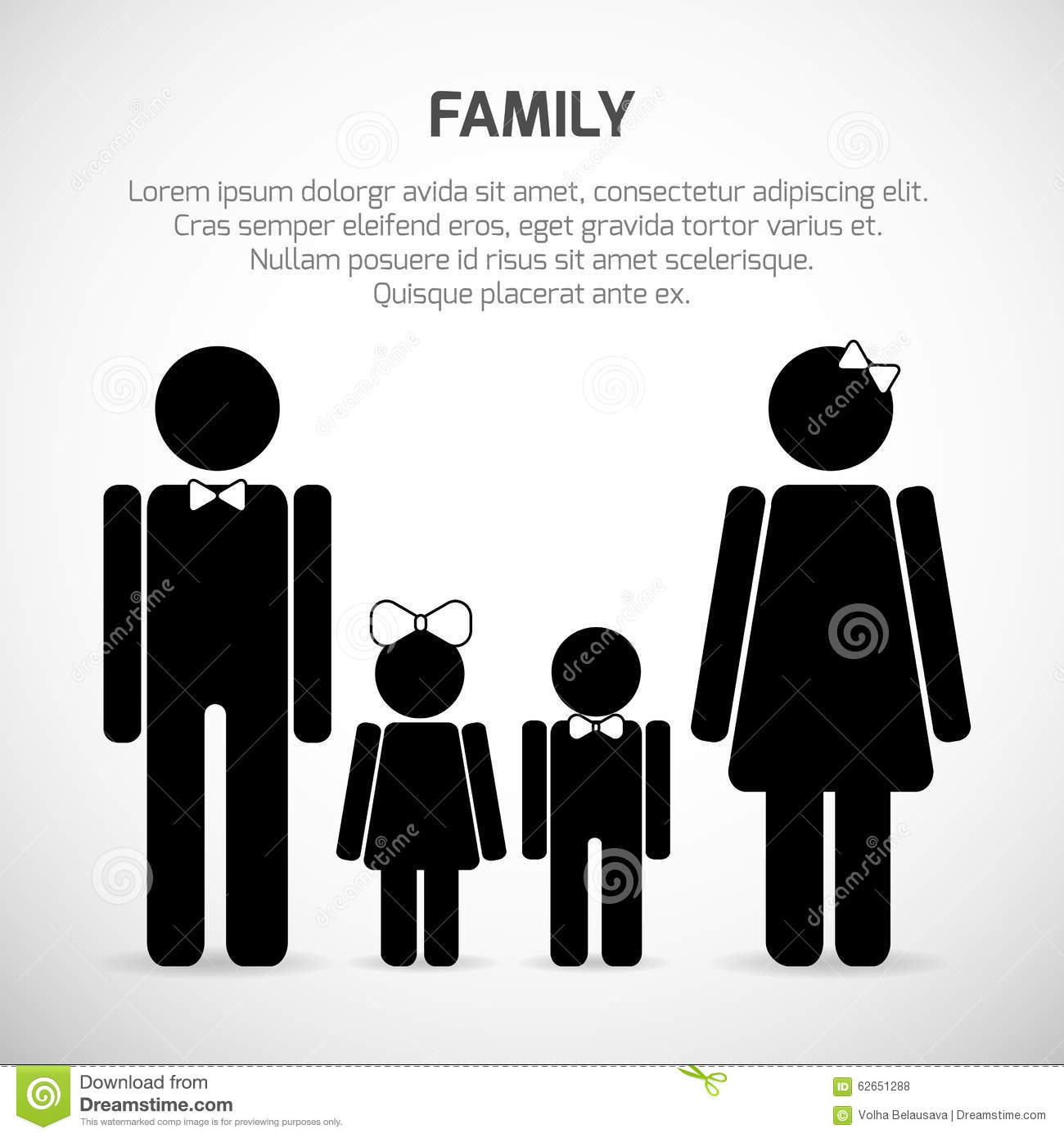 Family sign mother father sun daughter stock vector mother father sun daughter biocorpaavc