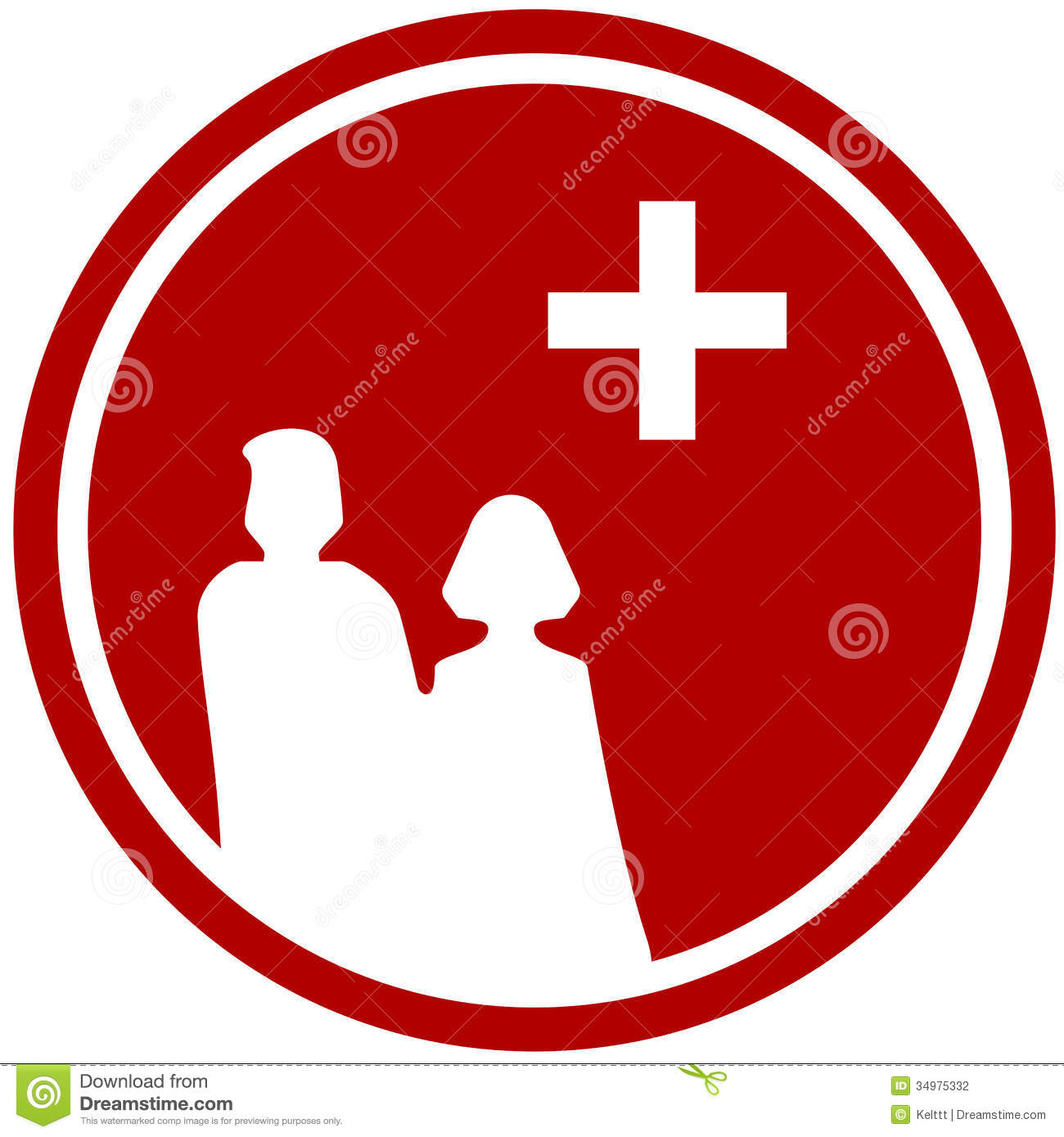 Family silhouette and medical symbol illustration 34975332 megapixl family silhouette and medical symbol biocorpaavc