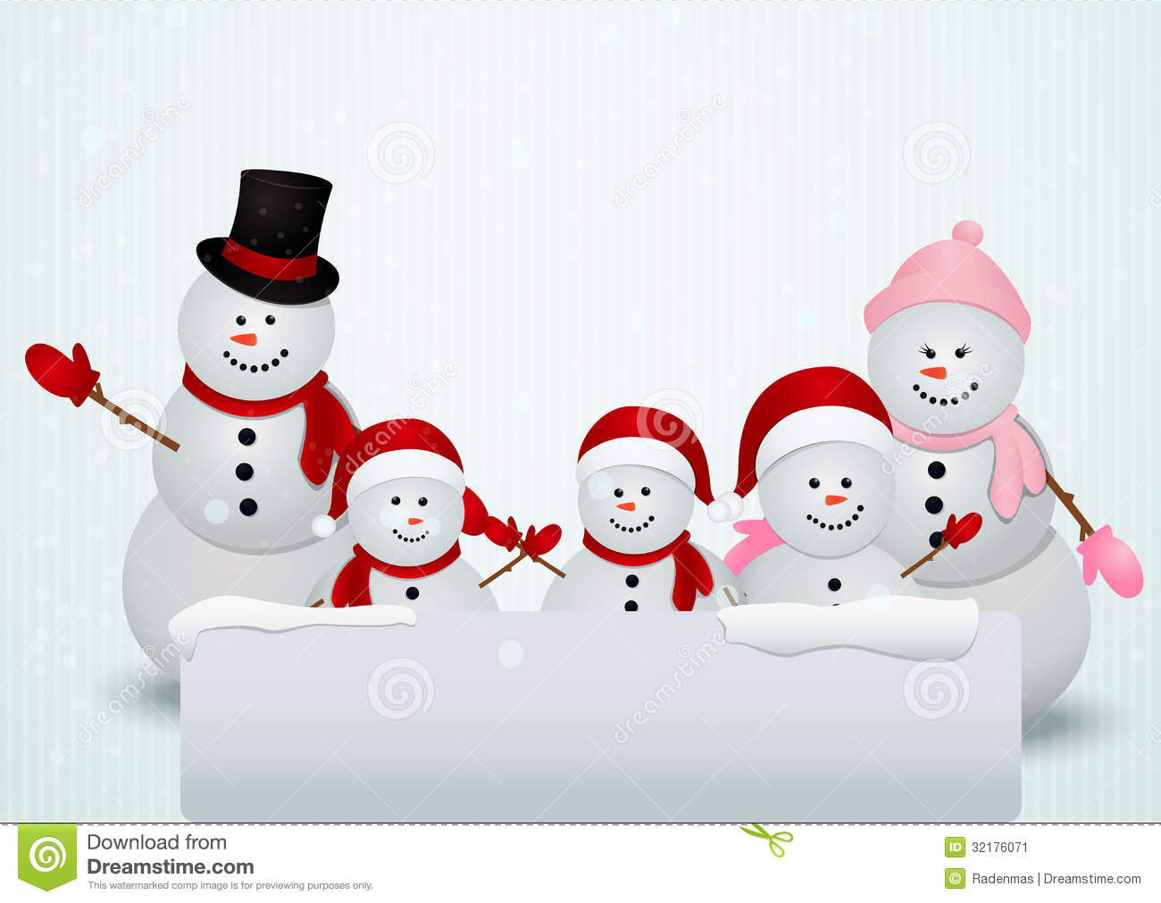 snowman family wallpaper - photo #7