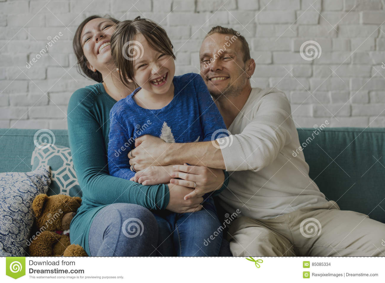 Family Spend Time Happiness Holiday Togetherness Concept