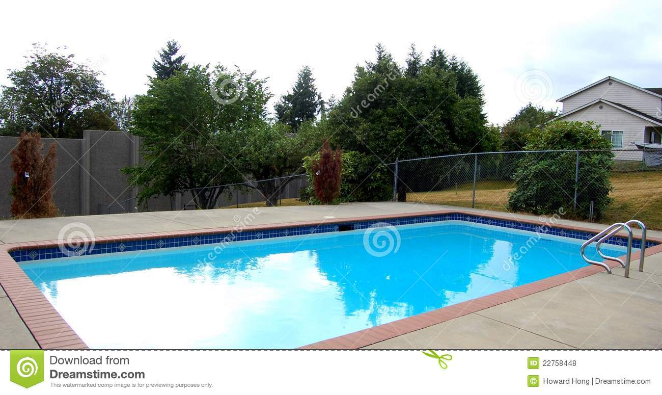 A family swimming pool royalty free stock photos image for Family swimming pool
