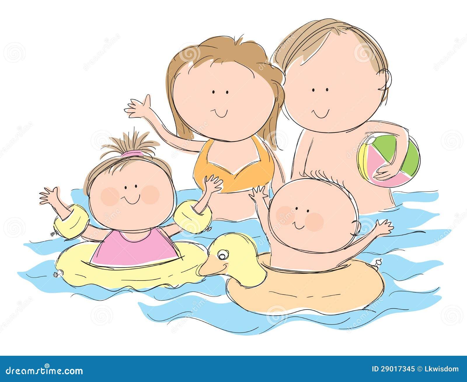 купание клипарт:
