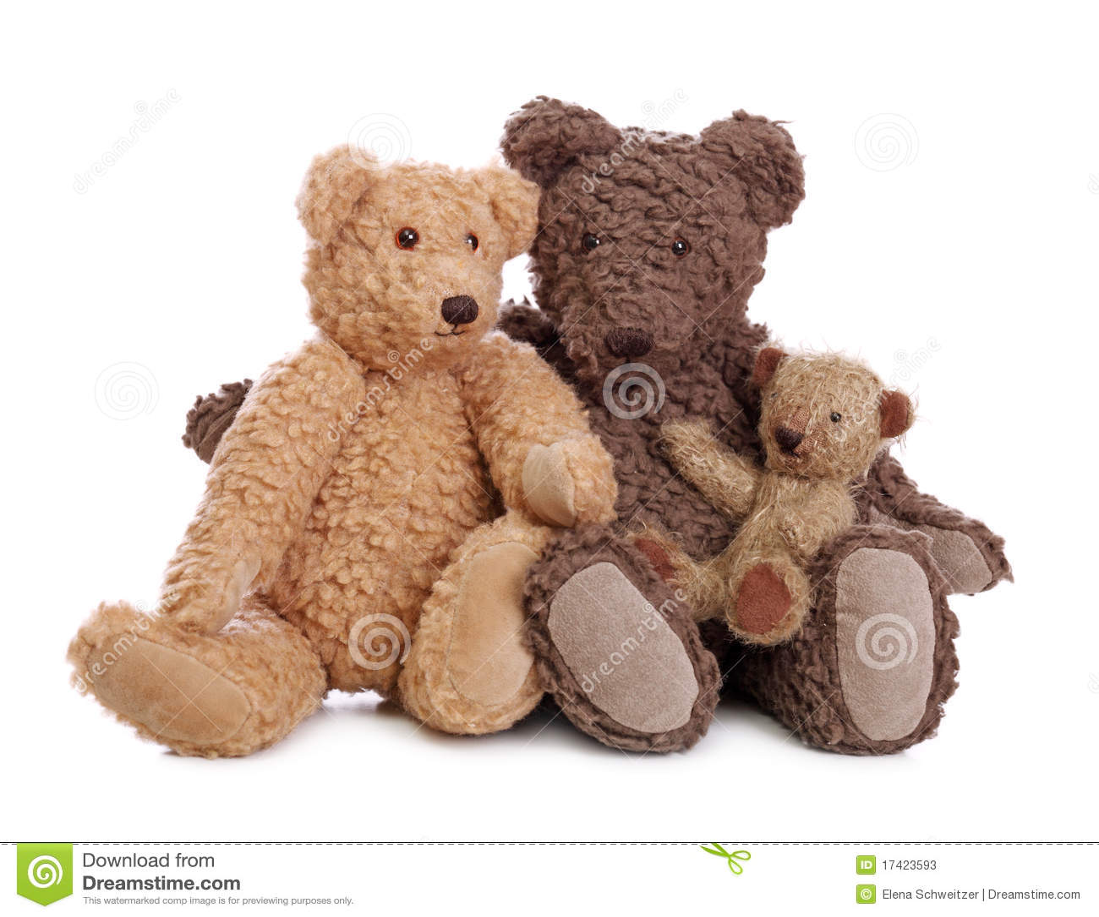 Family Of Teddy Bears Stock Photos Image 17423593