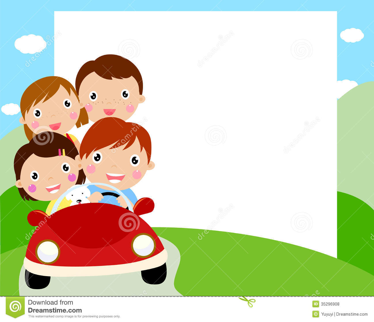 Family Travel Stock Vector Illustration Of Happiness