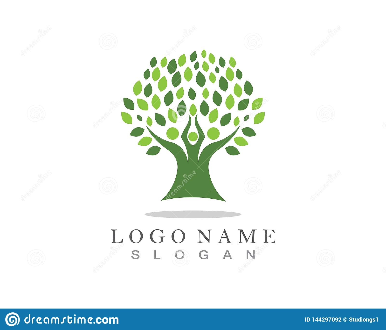 Family Tree Logo Template Stock Photo Image Of Medical