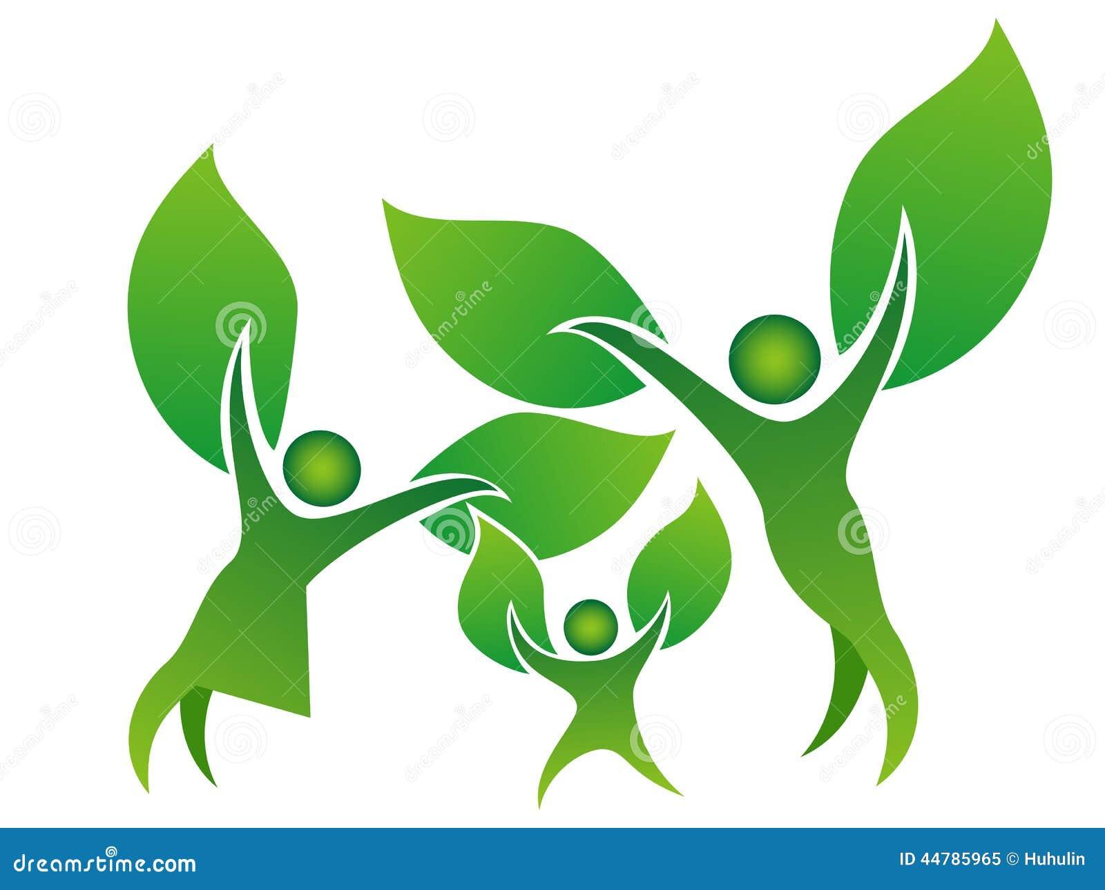 Family Tree Symbol Stock Vector Illustration Of Green 44785965