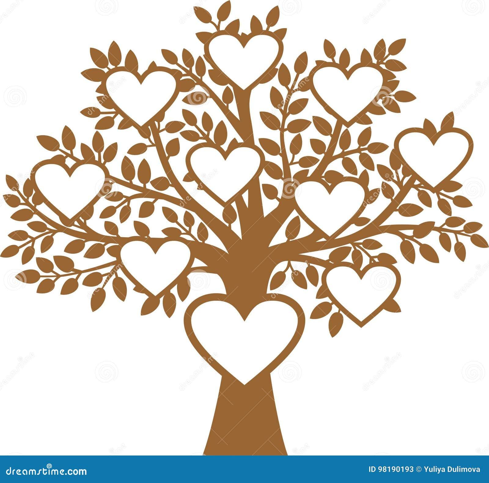 Family Tree stock vector. Illustration of illustration ...
