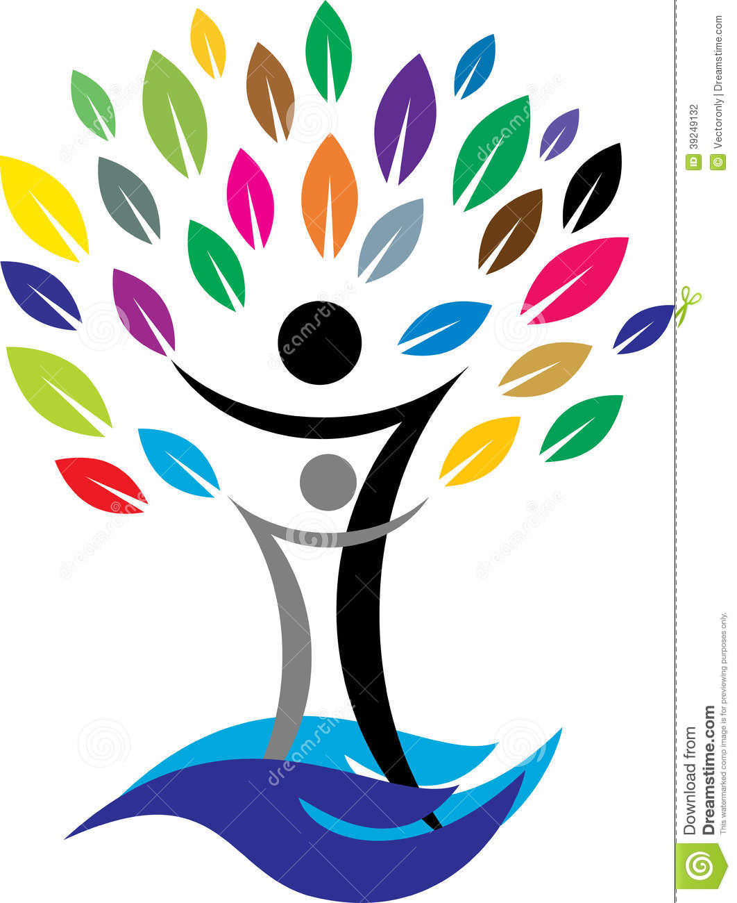 Family Tree Stock Vector - Image: 39249132