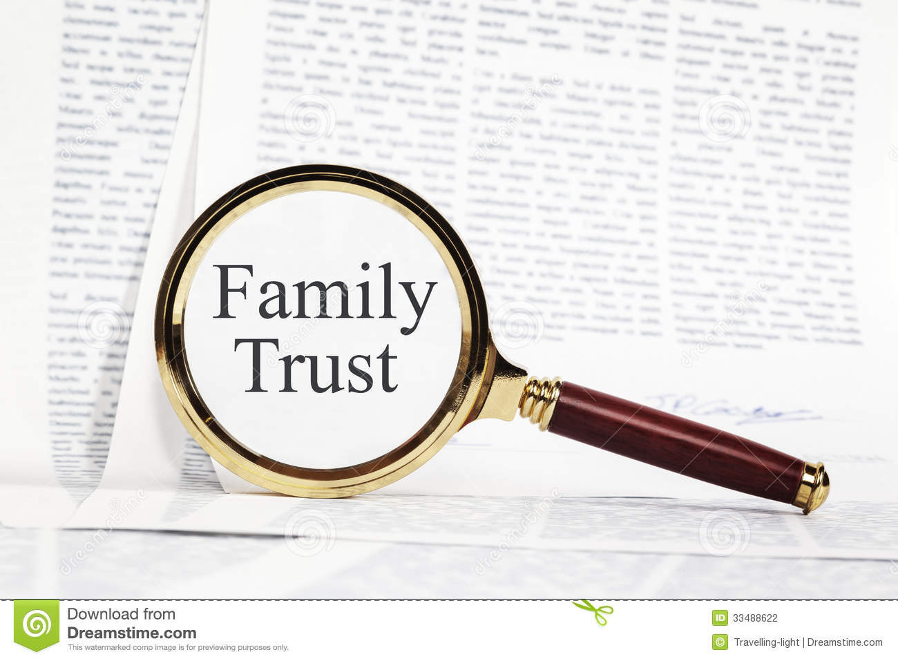 how to find a family trust