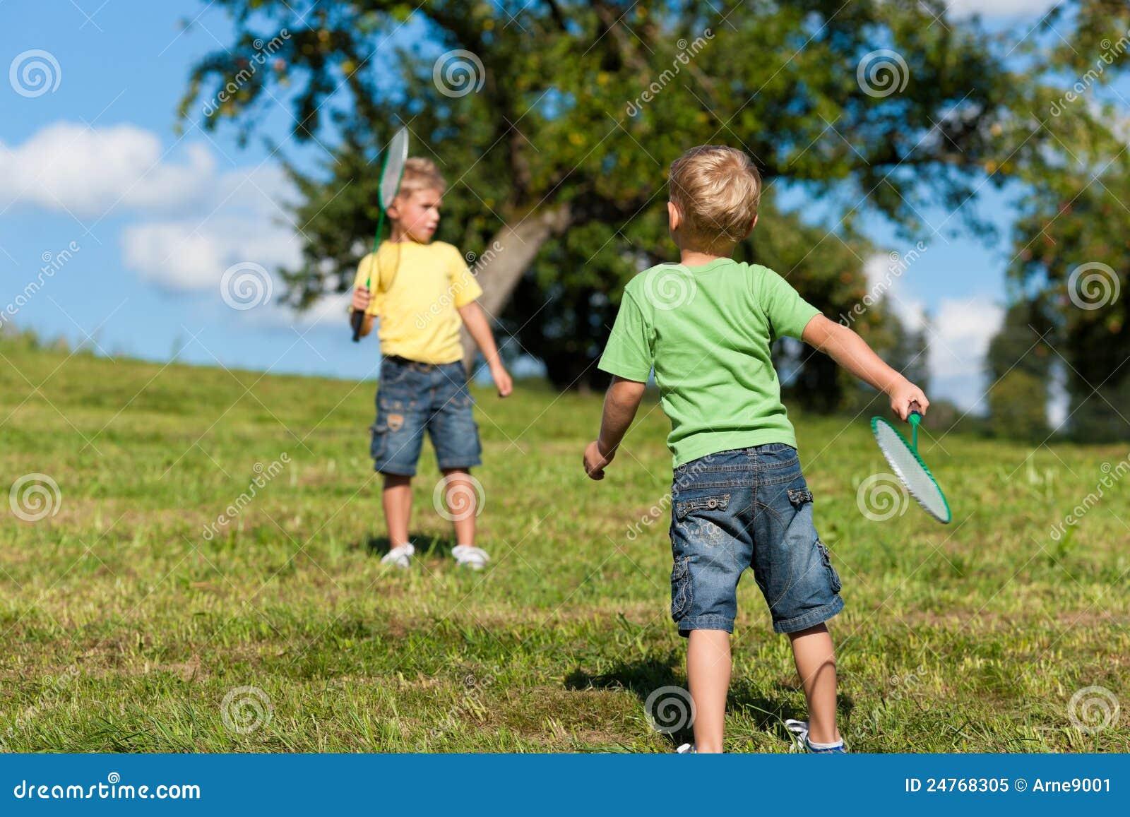 Two boys shorts young stock photos
