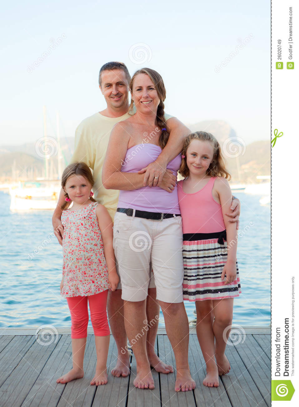 Family Vacation Royalty Free Stock Images - Image: 26020749