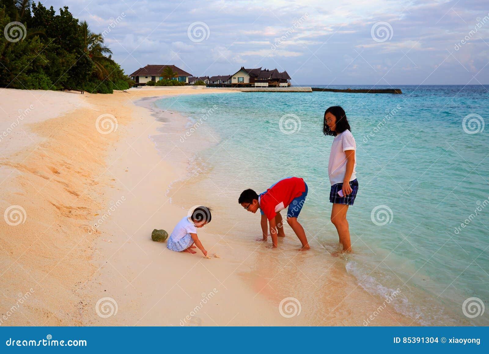 Family vacation, Maldives