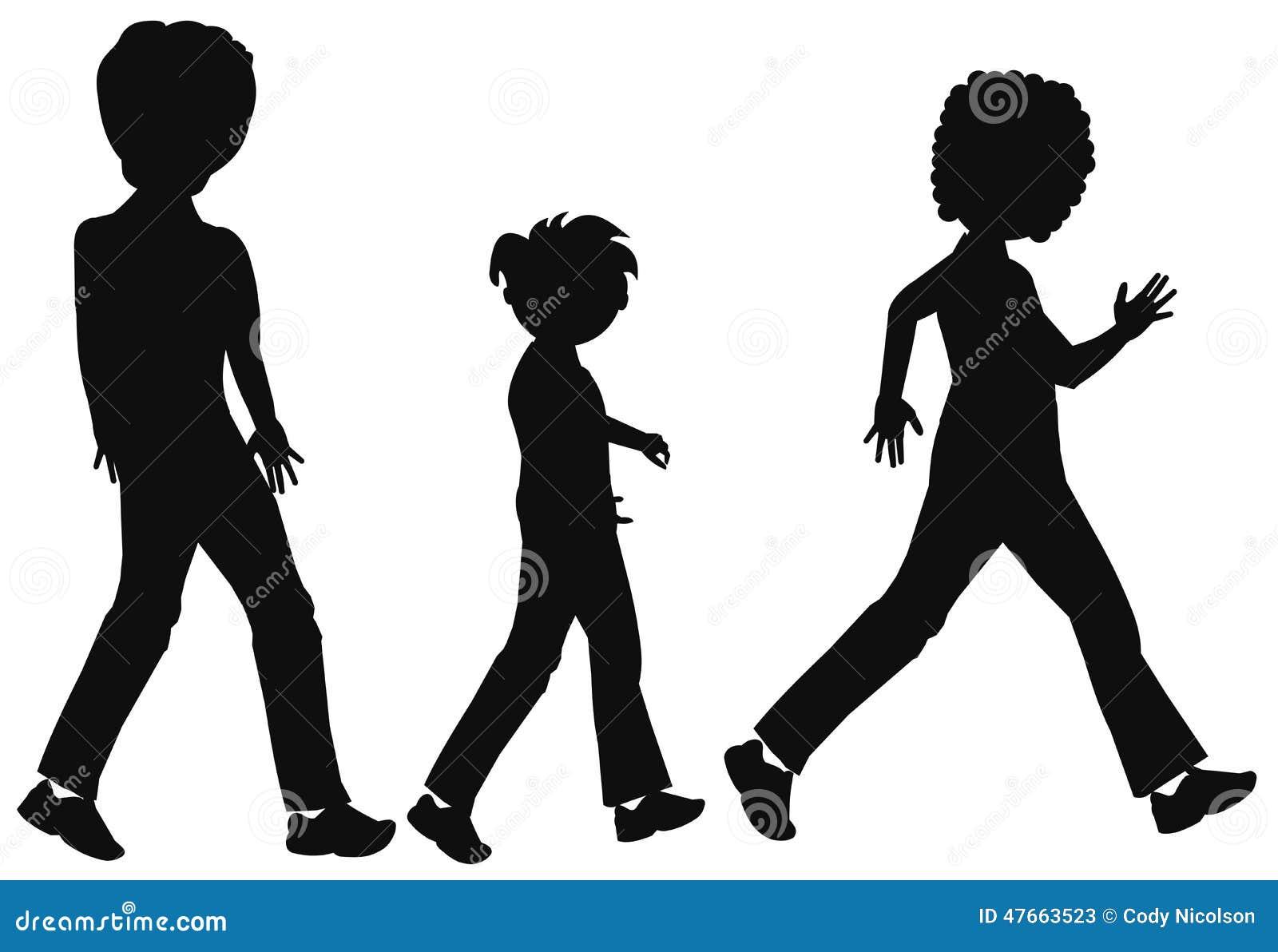 family-walking-silhouette-over-white-47663523 jpgFamily Walking Silhouette