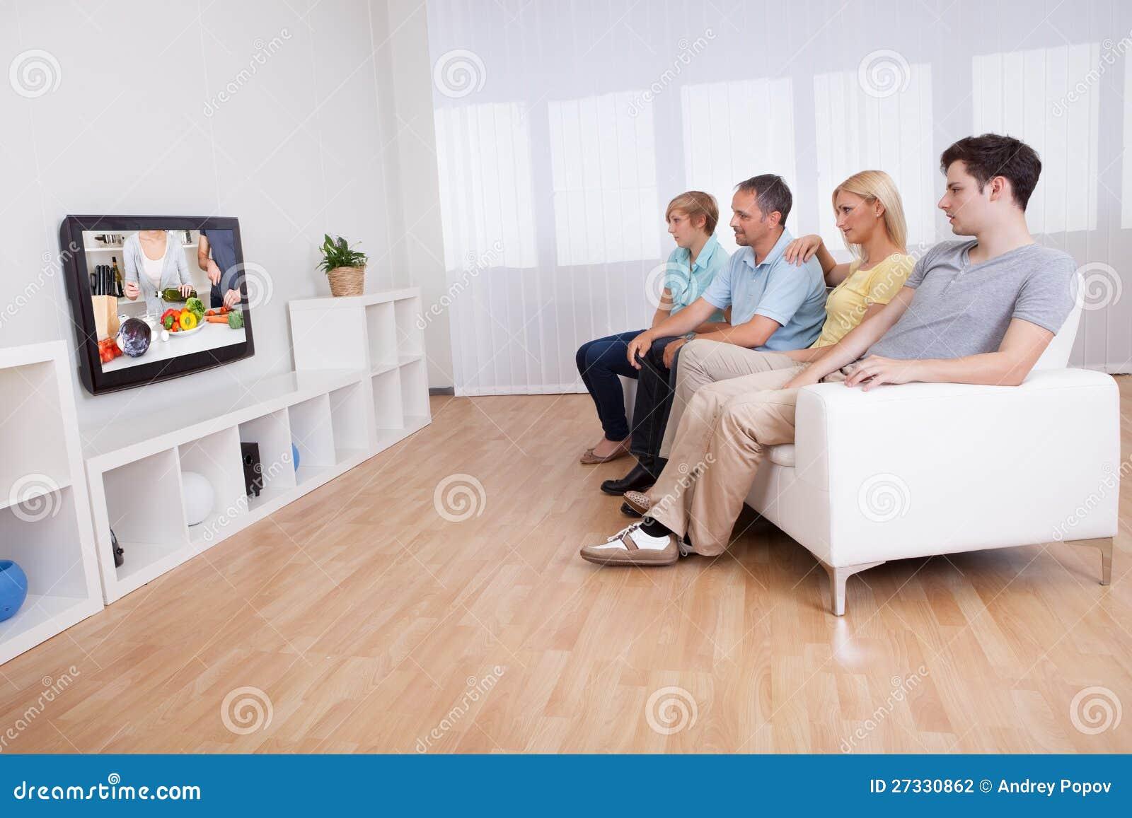 Dog Sitting Up Watching Tv