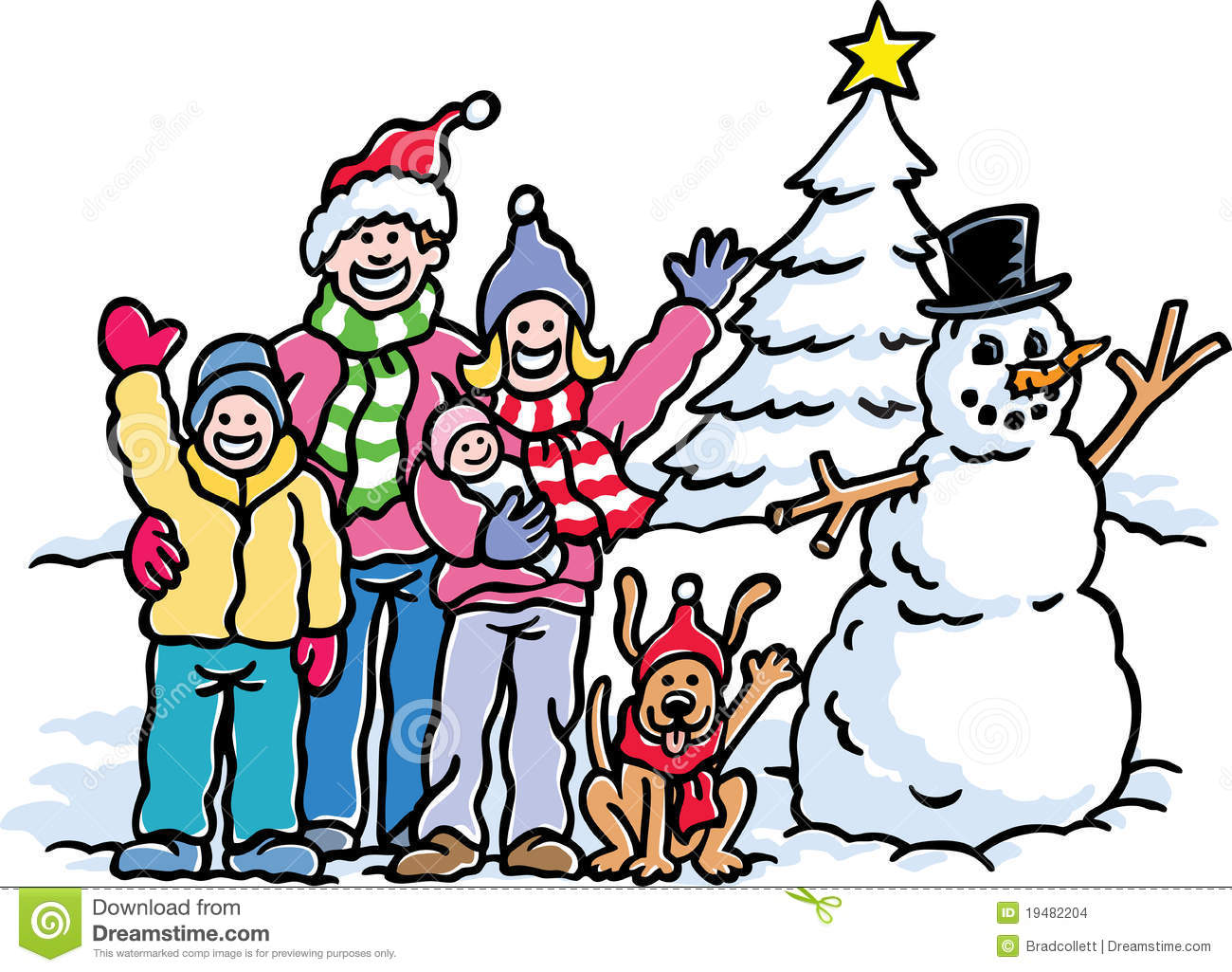winter vacation clipart - photo #20