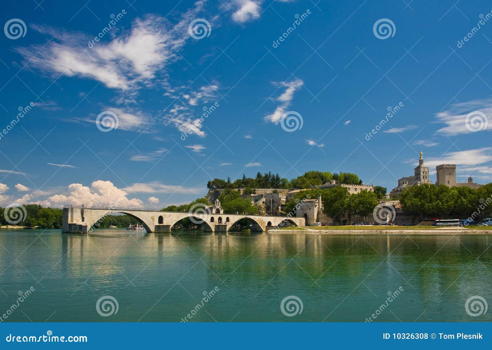 Famous Avignon Bridge