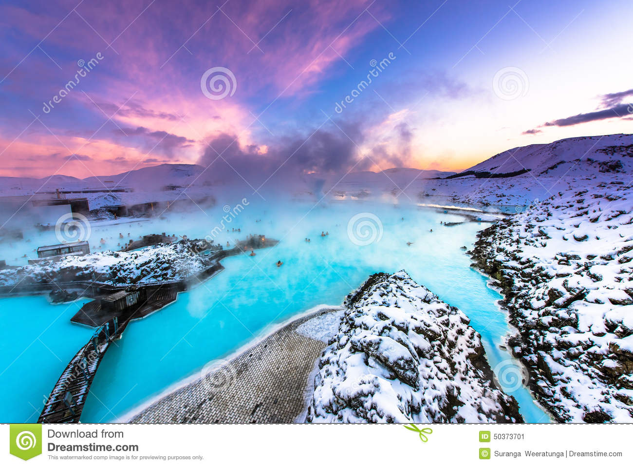 the famous blue lagoon near reykjavik iceland stock image image of background pool 50373701. Black Bedroom Furniture Sets. Home Design Ideas