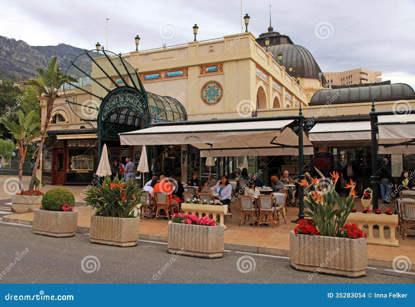 Cafe Du Paris Monte Carlo