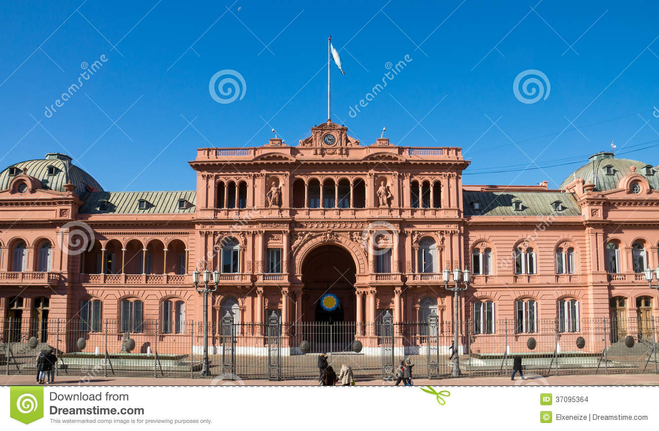 The famous casa rosada stock images image 37095364 for Casa argentina
