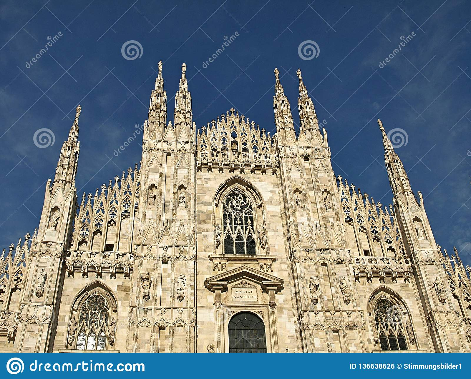 Beautiful cathedral in Milan