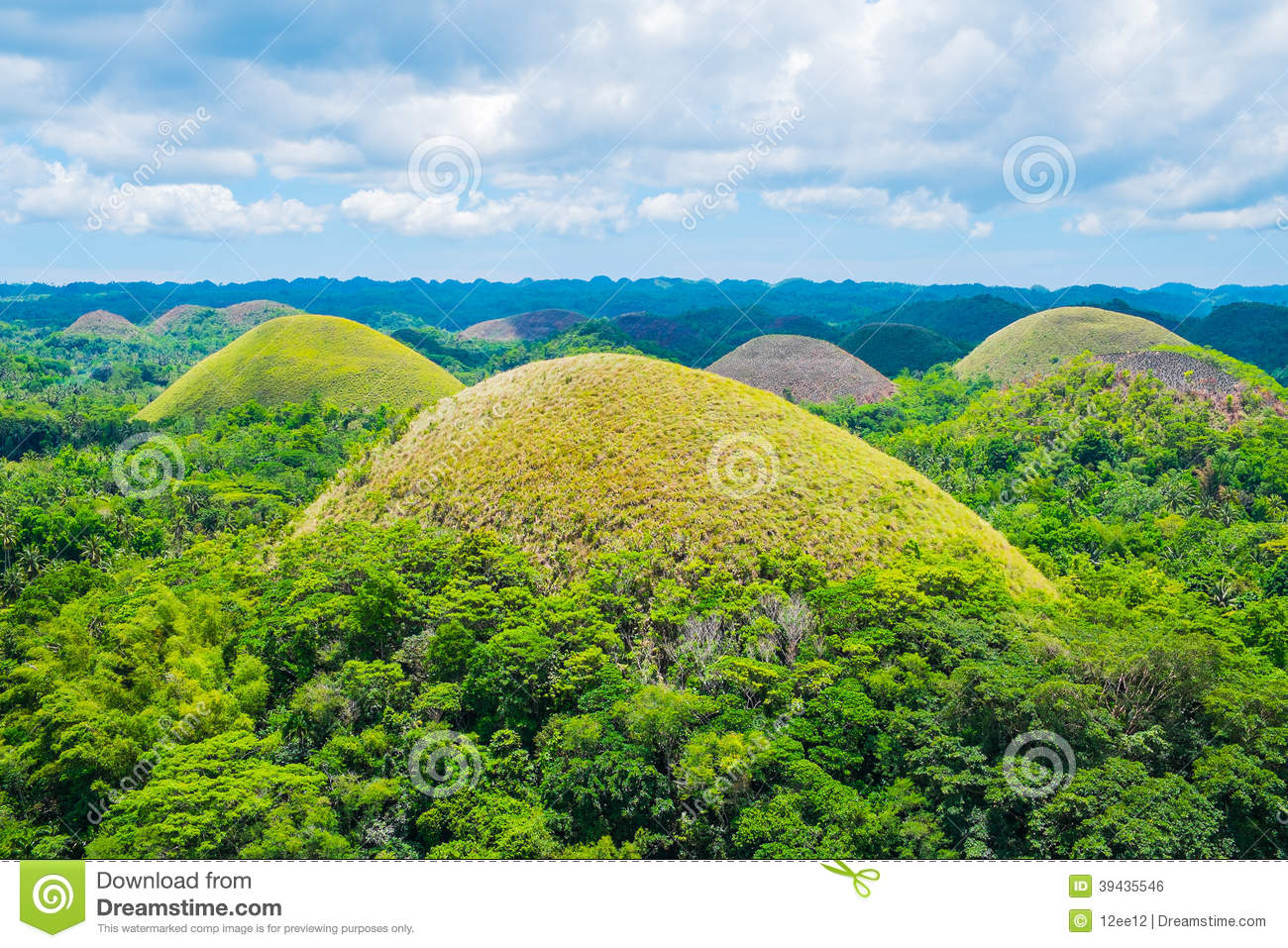 Famous Chocolate Hills...