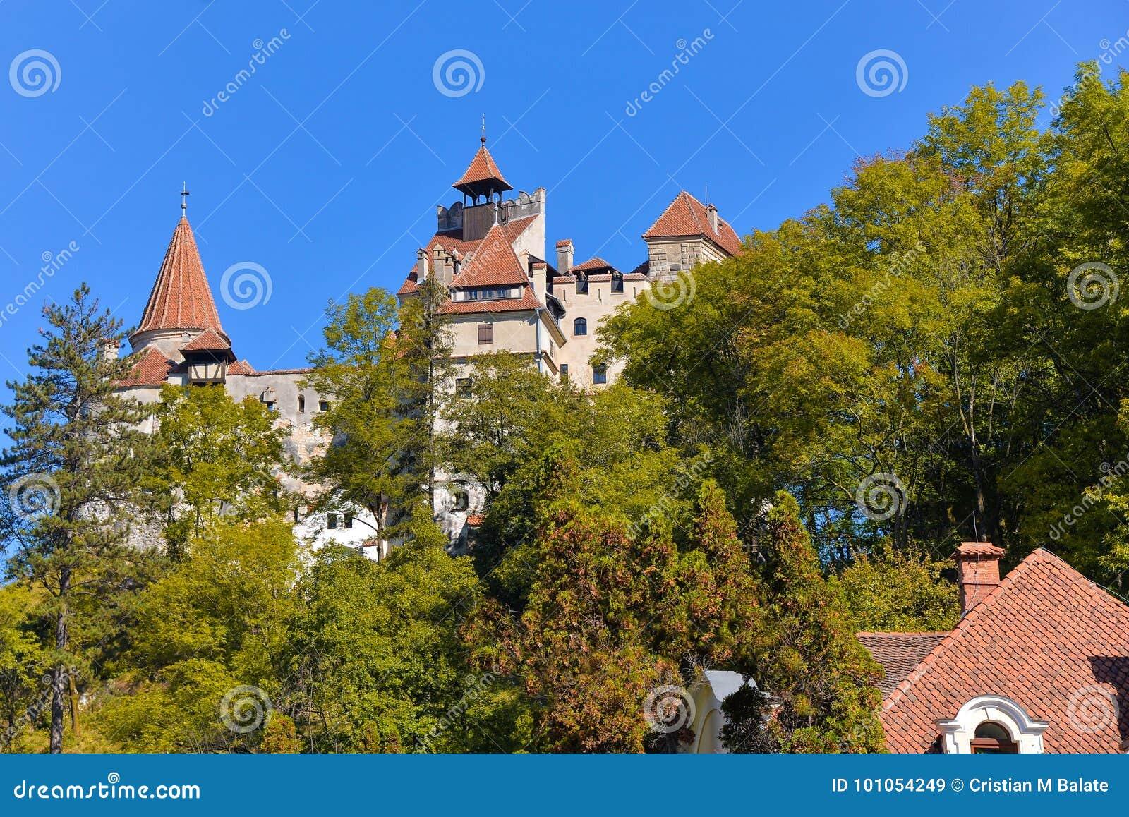 Bran, Dracula castle in fall season