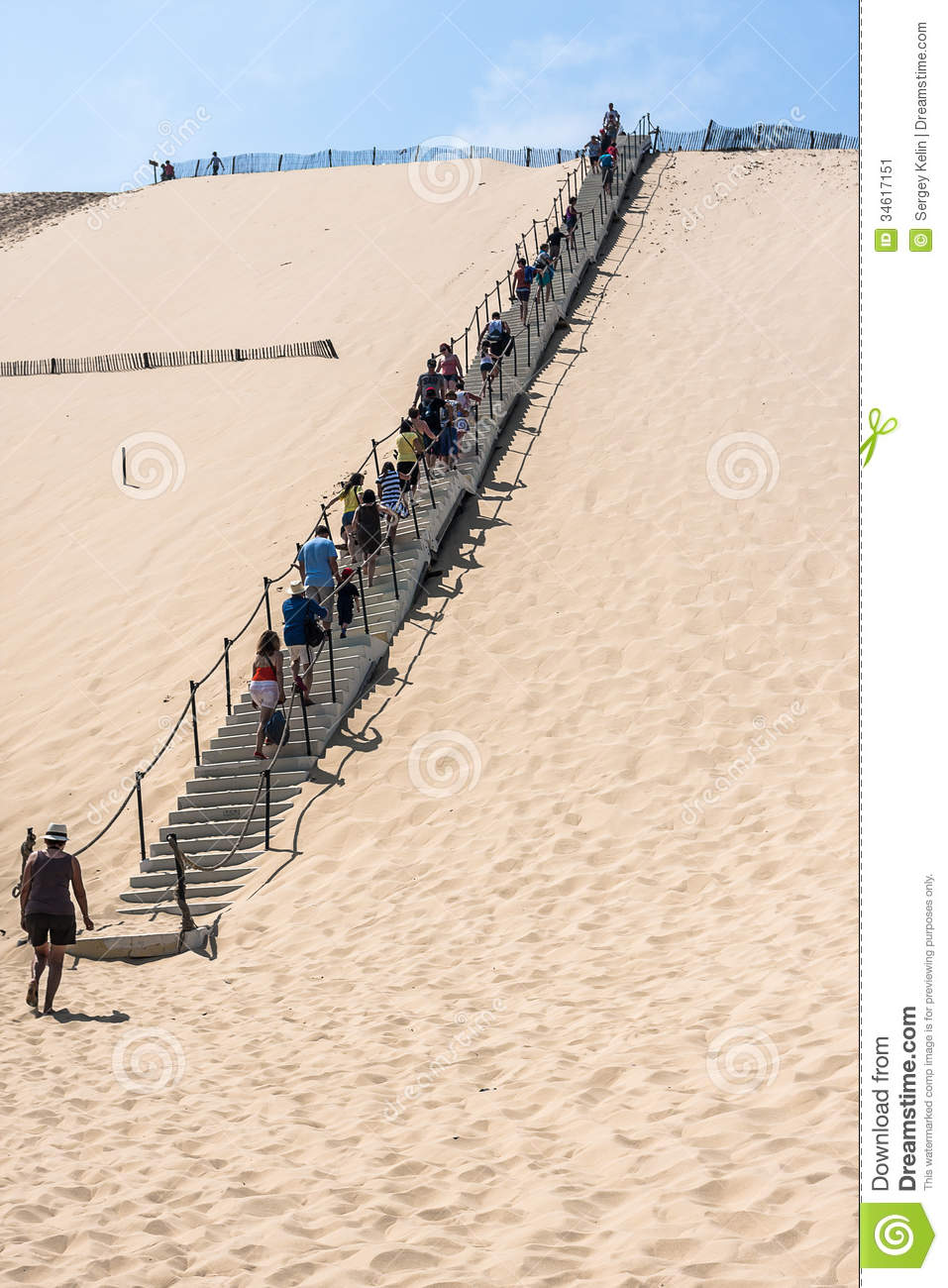 famous dune of pyla the highest sand dune in europe editorial photo image of large bordeaux. Black Bedroom Furniture Sets. Home Design Ideas