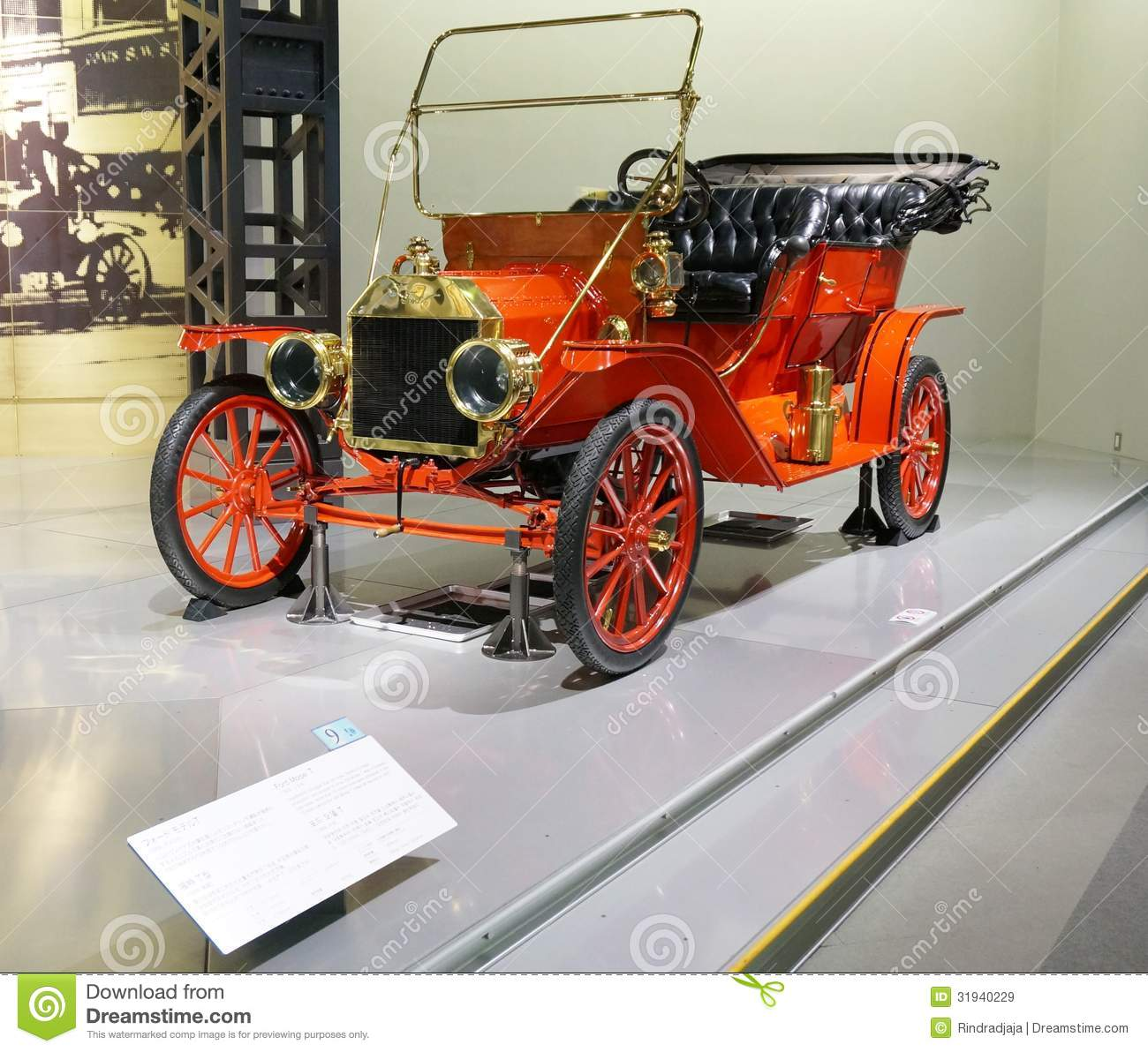 The Famous Ford Model T Editorial Stock Image. Image Of