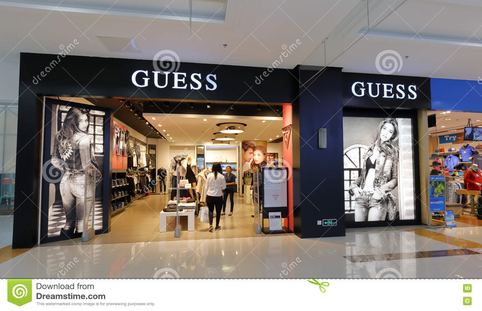 Fashion house clothing store