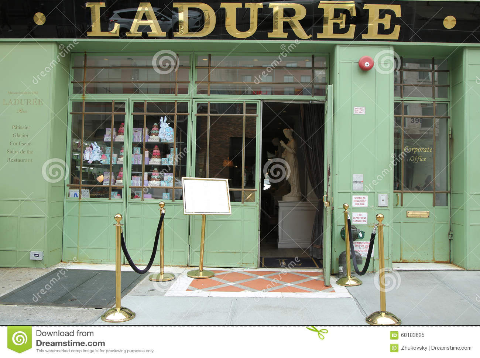 Laduree New York Tea Room